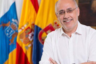 Antonio Morales Méndez, Presidente del Cabildo de Gran Canaria.